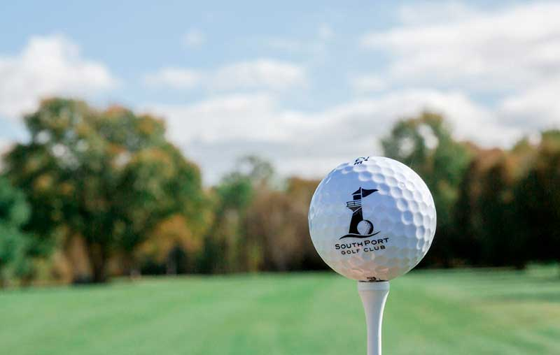 Focus on golf ball Image